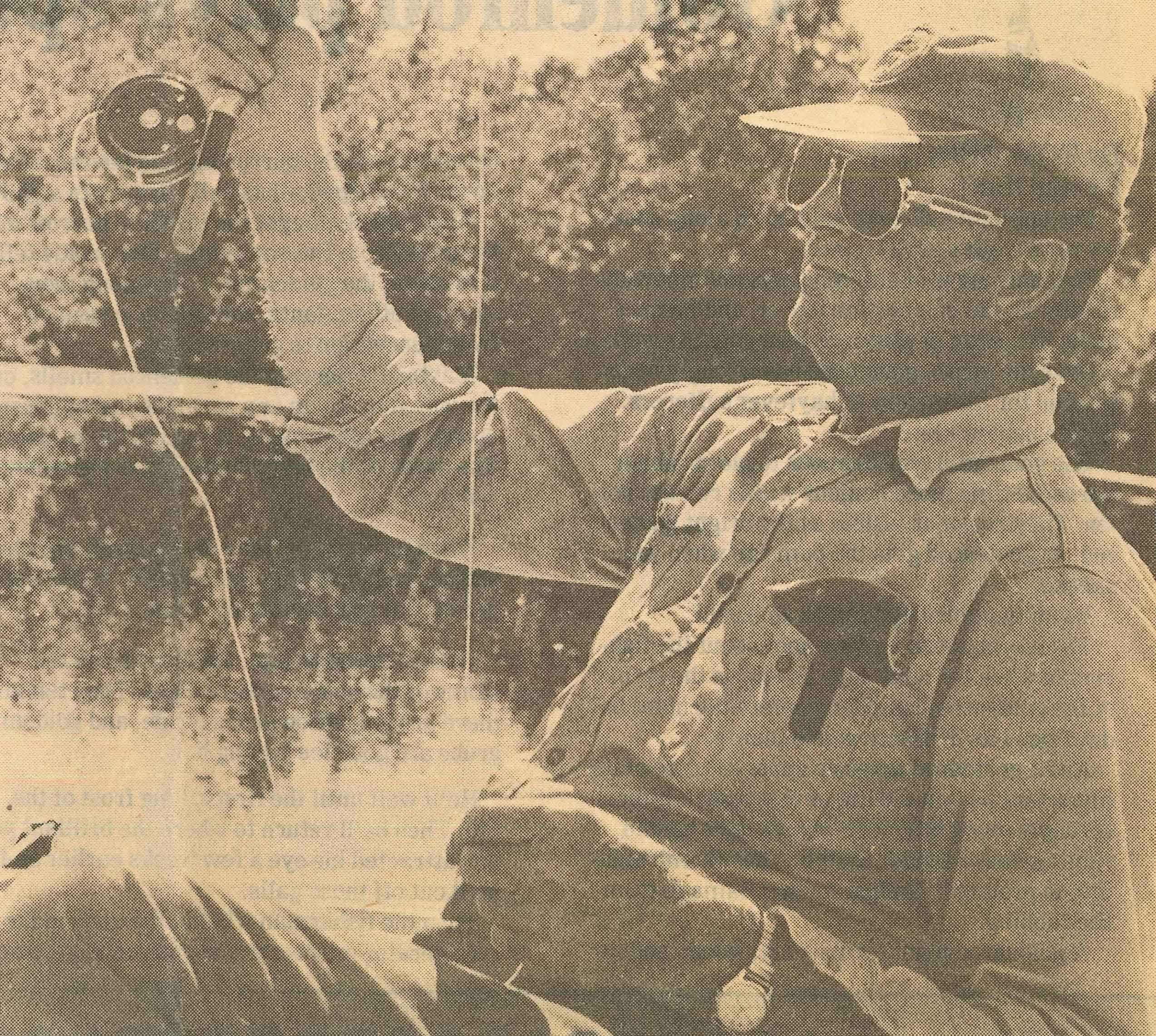 Al Langlois fishing